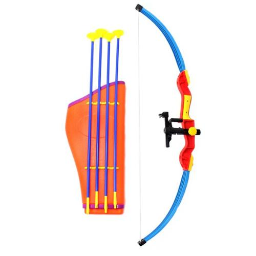Toy Archery Bow and Arrow Set with Quiver