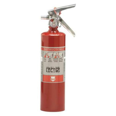 Shield Fire Protection 2.5 lb. Capacity, Fire Extinguisher, Dry Chemical, 13315DH