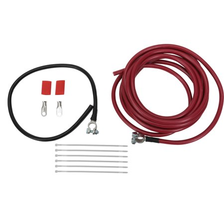 2-Gauge Battery Relocation Cable Kit, Copper, 18 Ft.