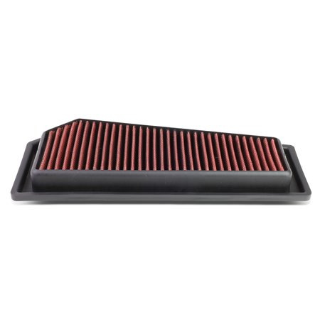 For 2012 to 2015 Mercedes Benz C250 / SLK250 1.8T Reusable & Washable Replacement High Flow Drop -in Air Filter (2010 Mercedes Benz S400 Hybrid For Sale)