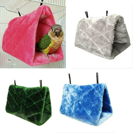 Soft Plush Hanging Hammock Cage Hut Tent Bunk Bed Pet Parrot Hamster Toy Suppliies (Jabba The Hutt Pet)