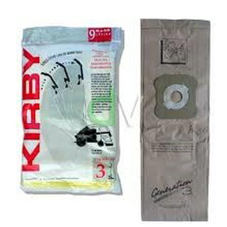 Genuine Kirby Generation 3 Vacuum Cleaner Bags 9 Pk Will
