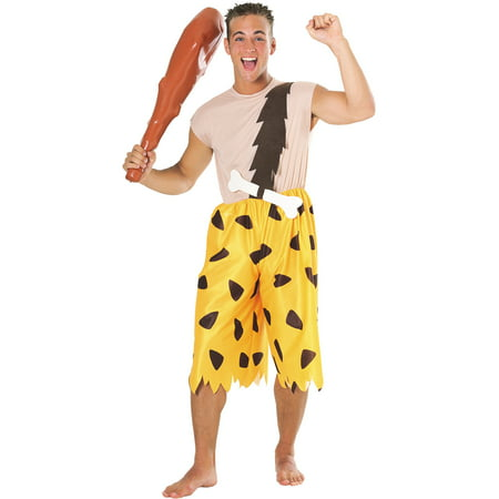 Flintstones Bamm Bamm Adult Halloween Costume](Flintstones Halloween Costume Accessories)
