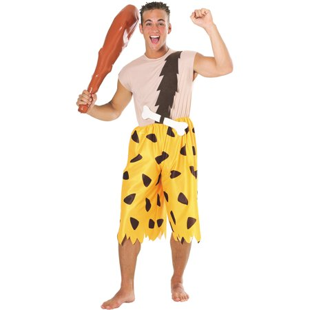 Flintstones Bamm Bamm Adult Halloween Costume (Flintstone Halloween Costume)