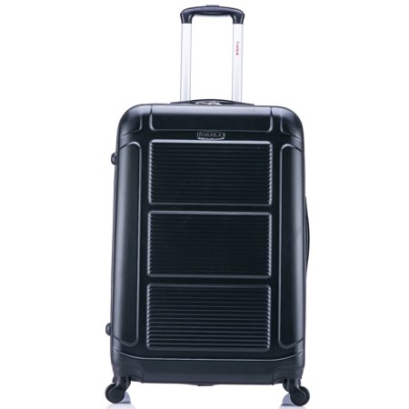 InUSA Pilot 28u0022 Hardside Spinner Suitcase - Black