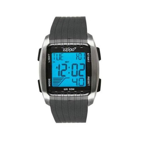 Zippo Digital Watch Black Band Zippo Digital Watch Black Ban