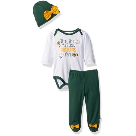 cf78a6a8f NFL Green Bay Children Girls Bodysuit