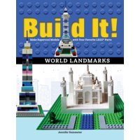 Brick Books: Build It! World Landmarks: Make Supercool Models with Your Favorite Lego(r) Parts (Paperback)