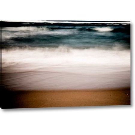 Trans Ocean Dunes Waves (Highland Dunes 'Ocean Waves IV' Photographic Print on Wrapped Canvas)