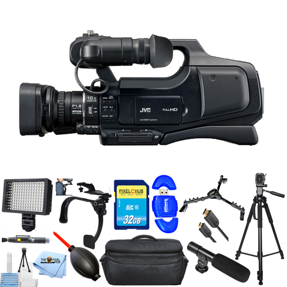 UNASSIGNED JVC JY-HM70 / GY-HM70 PAL HD Camcorder With 1/...