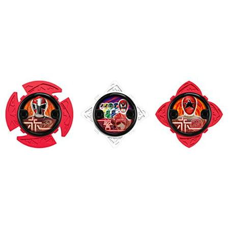 Power Rangers Ninja Steel Ninja Power Star Red Ranger Pack