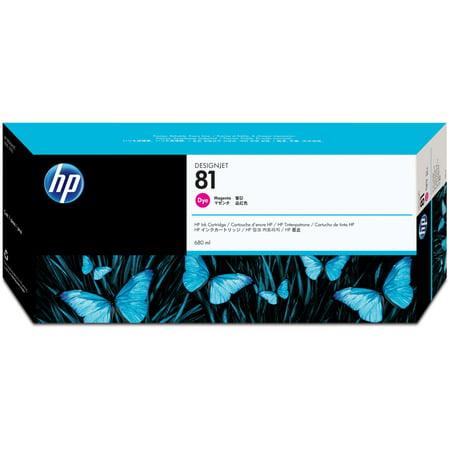 HP, HEWC4932A, 81 Dye Ink Cartridges, 1 Each (Hp 81 Dye Ink)