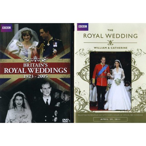 BBC Royalty: Britain's Royal Weddings 1923-2005 / The Royal Wedding - William And Catherine (2-Pack) (Anamorphic Widescreen)