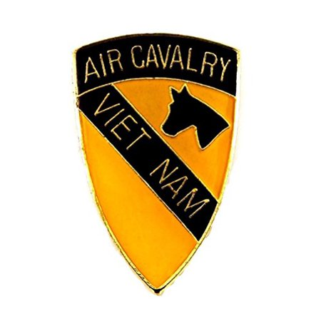 US Army 1st Air Cavalry Division Vietnam Lapel Hat Pin Military PPM806 (1 pin)