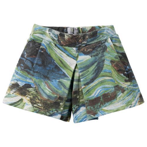 CakeWalk Big Girls Royal Blue Tinka Skirt Shorts 7Y-14Y
