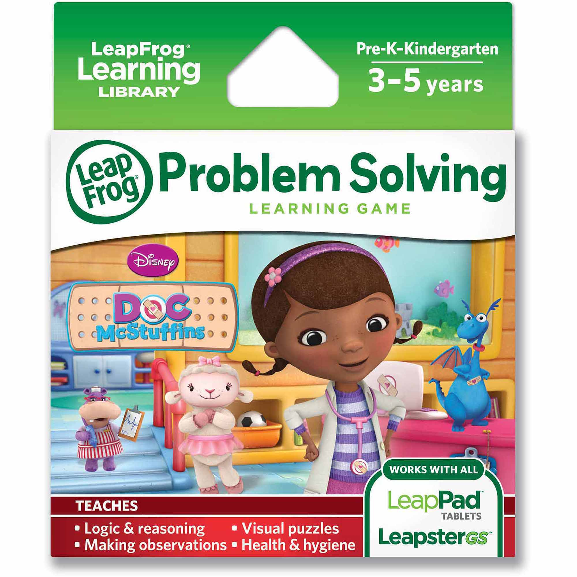 LeapFrog Explorer Learning Game, Disney Doc McStuffins