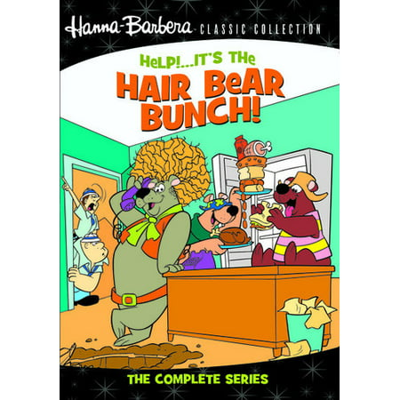 Help! It's the Hair Bear Bunch!: The Complete Series (DVD)
