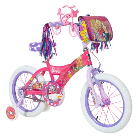 Dynacraft, 16u0022 Barbie Bike for Girls, Pink