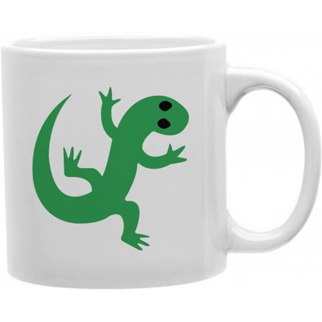 Imaginarium Goods CMG11-IGC-LIZARD Lizard Emoji 11 oz Ceramic Coffee Mug - image 1 of 1