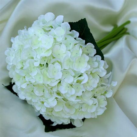 4pcs wholesale cream artificial hydrangea flower wedding bridal 4pcs wholesale cream artificial hydrangea flower wedding bridal bouquet mightylinksfo