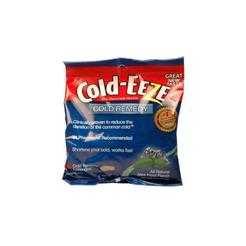 Cold-Eeze Cold Remedy Cold Drops Bag, Mint Frost - 18 Ea