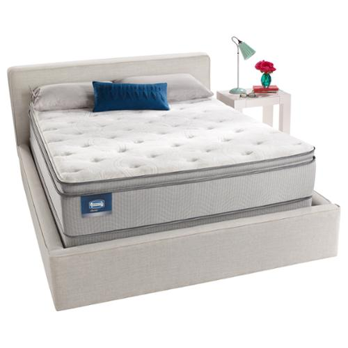 Simmons Beautyrest Simmons BeautySleep Titus Pillow Top Queen-size Mattress Set