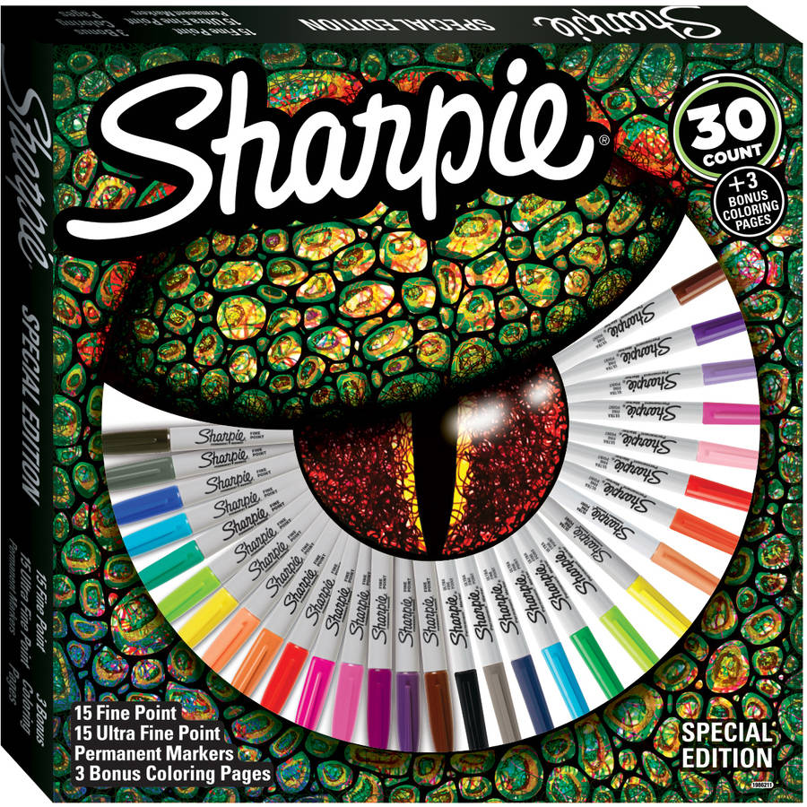 sharpie coloring pages Sharpie Special Edition 30 Count Marker Set   Walmart.com sharpie coloring pages