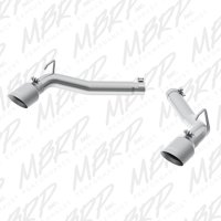 MBRP 2010-2015 Chevrolet Camaro V8 6.2L 3in Alum Axle Back Muffler Delete