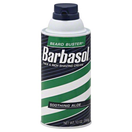 Shaving Soap Cream - Barbasol Beard Buster Shaving Cream Soothing Aloe - 10 oz