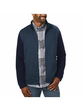 Calvin Klein Men's Full Zip Long Sleeve Jacket Medium Cadet Navy - NEW