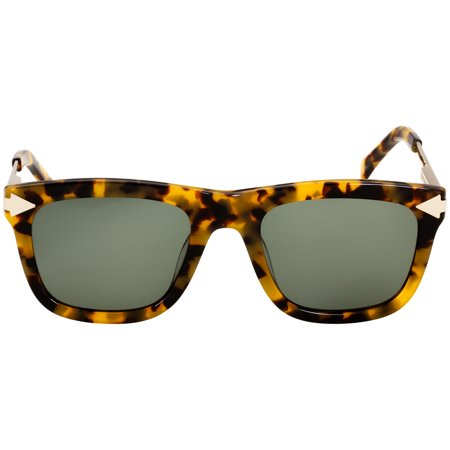 Karen Walker Voltaire Two Tone Acetate Frame Grey Lens Ladies Sunglasses (Karen Walker Black Sunglasses)
