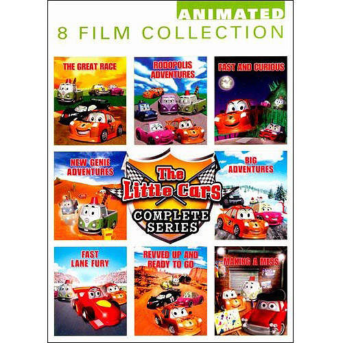 The Little Cars: Complete Series (Full Frame)