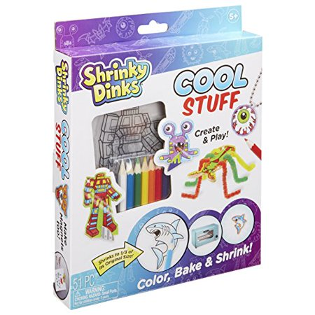 Shrinky Dinks Cool Stuff Activity Set Kids Art and Craft Activity - image 1 of 3