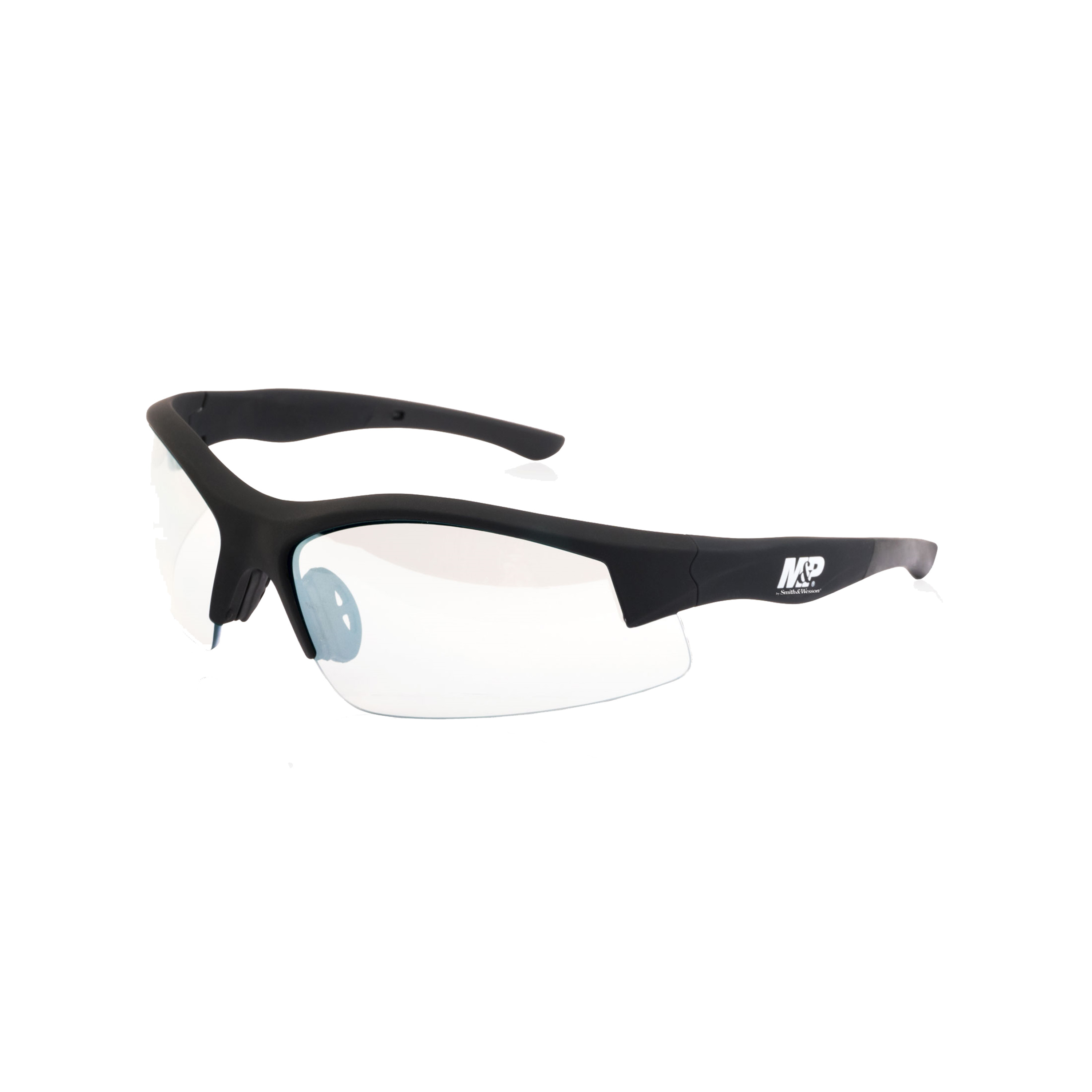 Smith & Wesson Accessories M&P Super Cobra Shooting Glasses Black Frame, Clear Mirrored Lens - Walmart.com | Tuggl