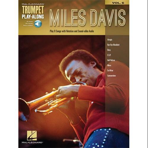 Hal Leonard Miles Davis-Trumpet Play-Along Volume 6-Audio Online by Hal Leonard