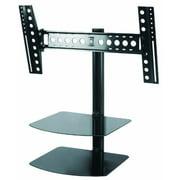"""AVF ESL822B-T Tilt and Turn TV Mount with AV Shelving for 37""""-60"""" Flat Panel TVs and AV Components"""