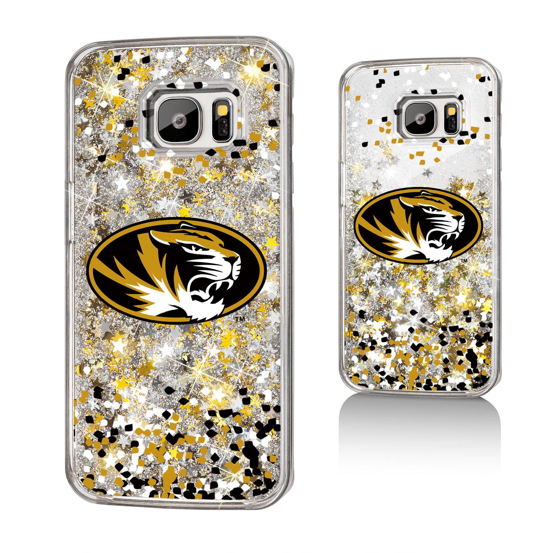 MU Missouri Tigers Confetti Glitter Case for Galaxy S7