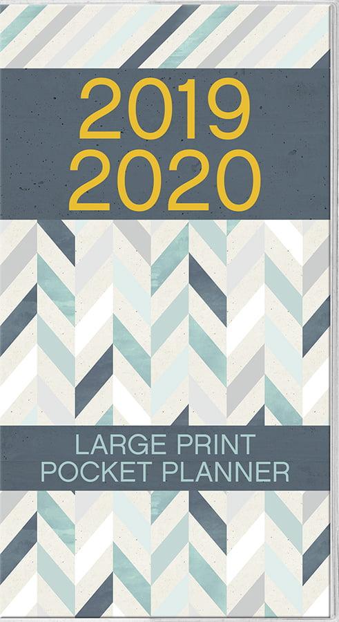 2019 Large Print Pocket Planner by Trends International