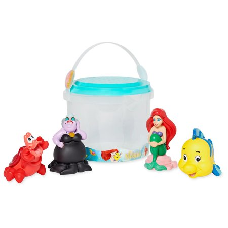 Disney Store The Little Mermaid and Friends Bath Set New with -