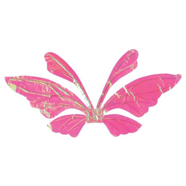 Costumes For All Occasions FW90560BU Wings Tail Opal Blue