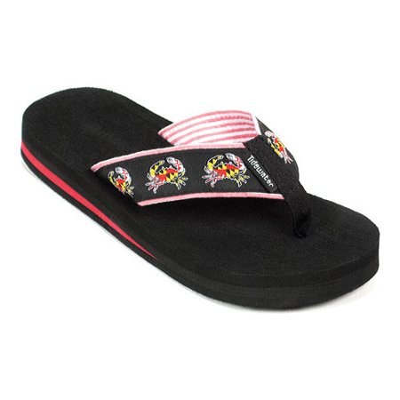 Tidewater Sandals Maryland Crab Flip Flop (Women's) ZMM4O