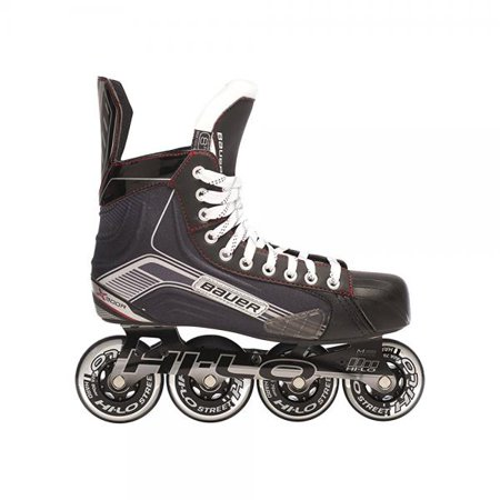 Bauer 1047270 Youth Vapor X300R Roller Hockey Skate, Black, Size 12 by