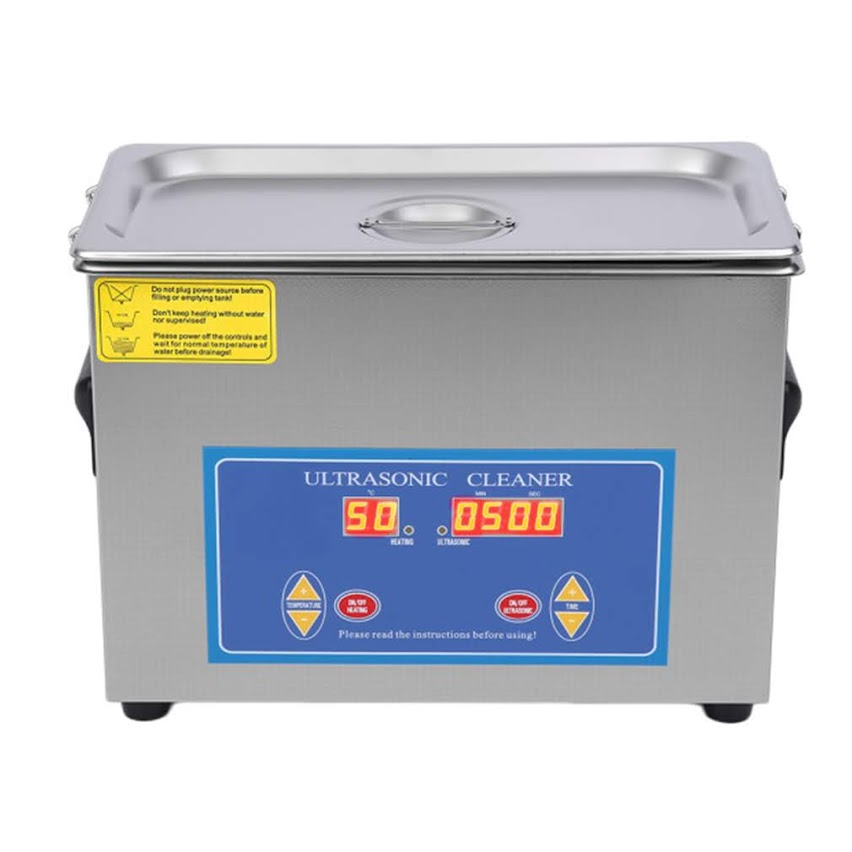 Ultrasonic Jewelry Cleaner 4.5L Stainless Steel Industry Heated Ultrasonic Cleaner with Heater Timer