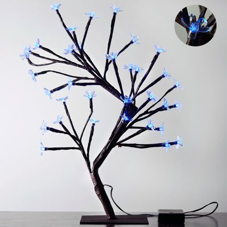 Efavormart 2pcs Blooming Cherry Blossom LED Centerpiece Tree For Wedding Party Events Centerpiece Decoration - Cherry Blossom Centerpieces