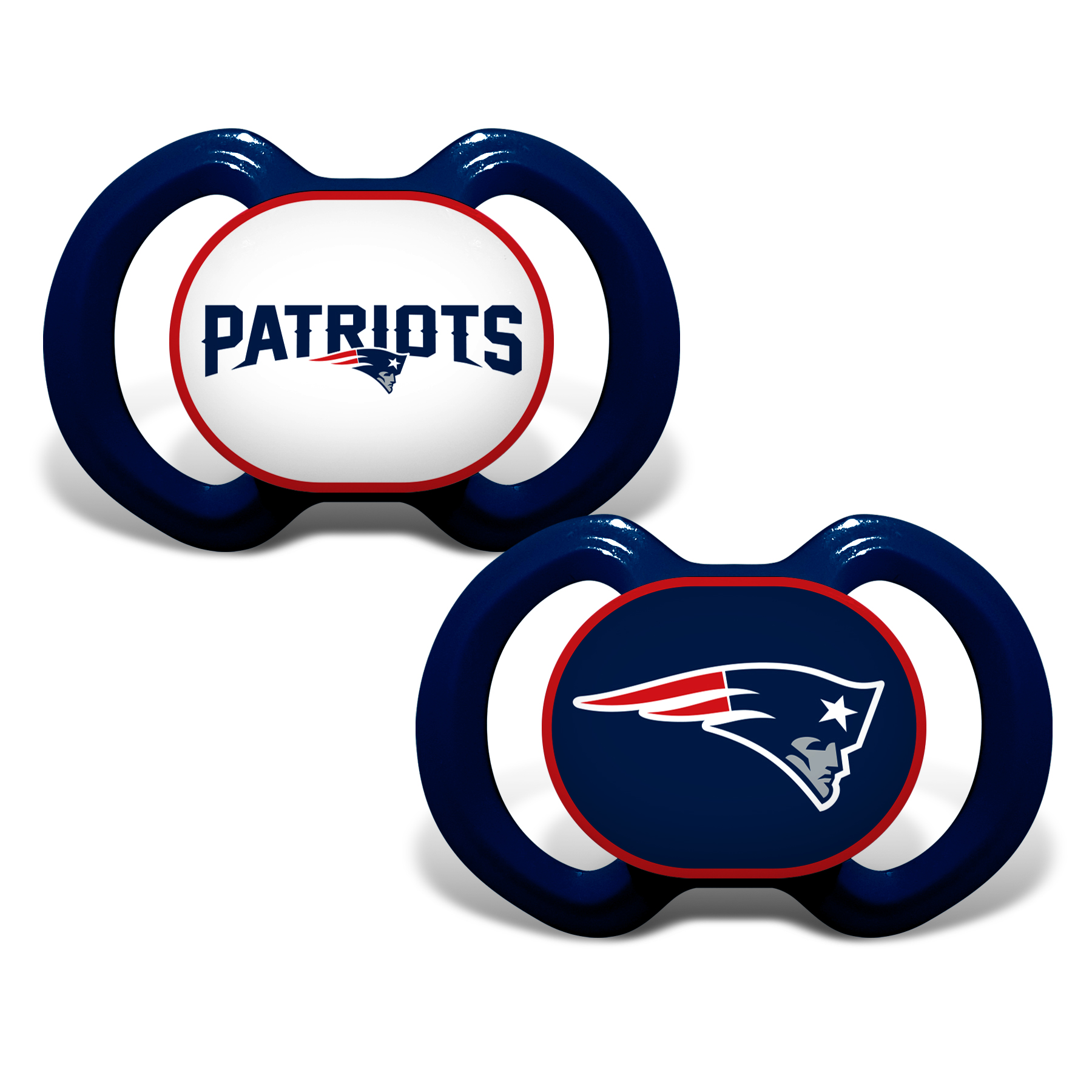 NFL New England Patriots 2-Pack Pacifiers