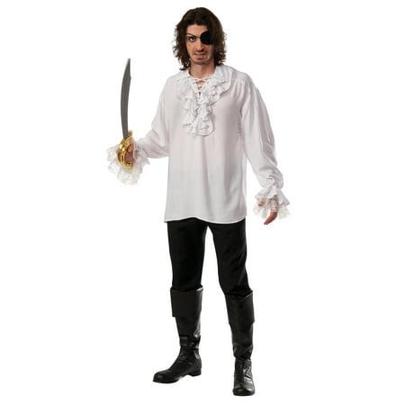 Mens Ruffled Pirate Shirt R810545 - Standard](Ruffle Shirt Mens)