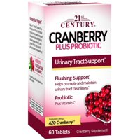 21st Century Cranberry Plus Priobiotic Tablets, 60 Ct