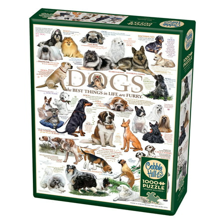 Cobble Hill: Dog Quotes 1000 Piece Jigsaw Puzzle - Religious Jigsaw Puzzles