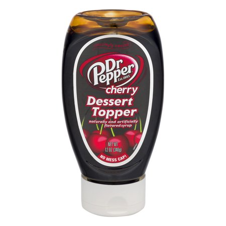 Dr Pepper Dessert Topper Cherry, 12.0 OZ