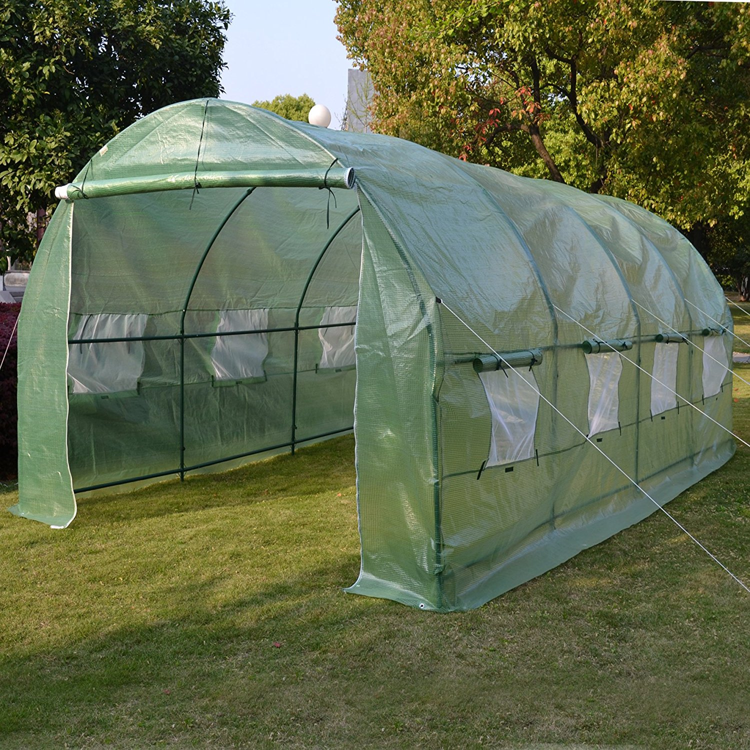 20'X10'X7' Walk-In Greenhouse Outdoor Plant Gardening Greenhouse by Supplier Generic